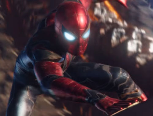 スパイダーマンの強さと筋力や能力!スーツはなんとアイアンマン製?1
