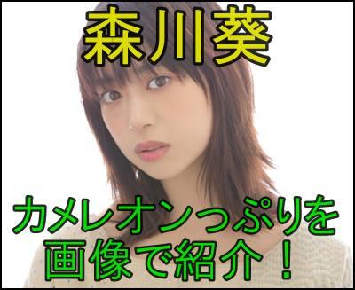 森川葵のカメレオン女優っぷりを画像で作品ごとに紹介してみる。e